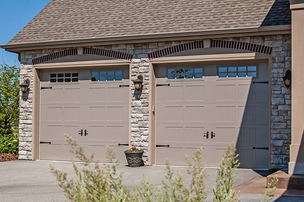 Carriage House Stamped Garage Door
