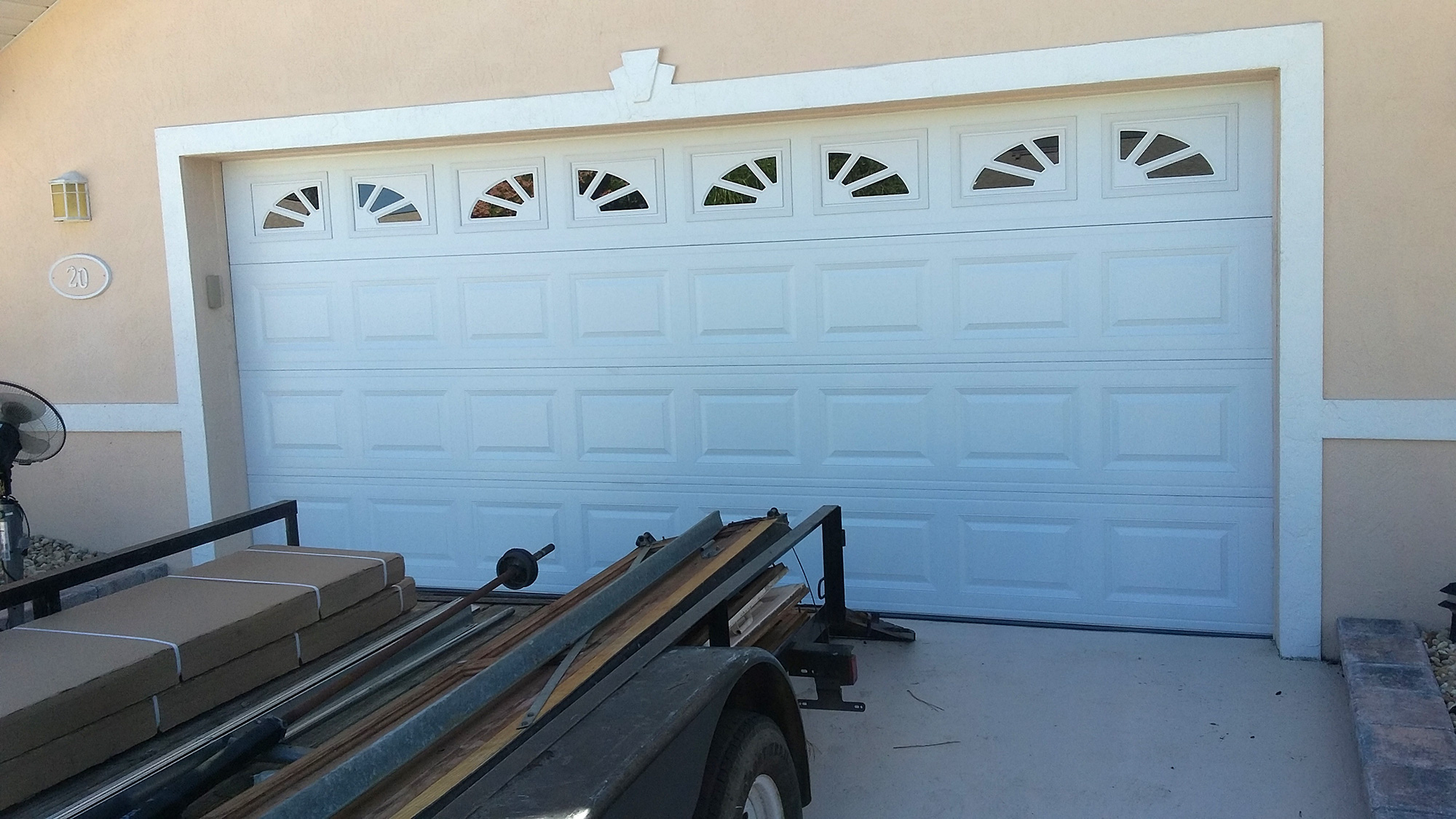 A1 Garage Doors What Are The Different Door Colors Tips Desain Pintu Garasi Mobil Model