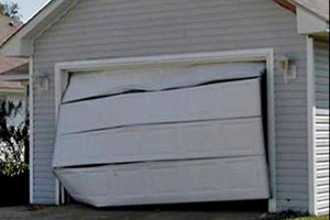 Broken Garage Door Panels