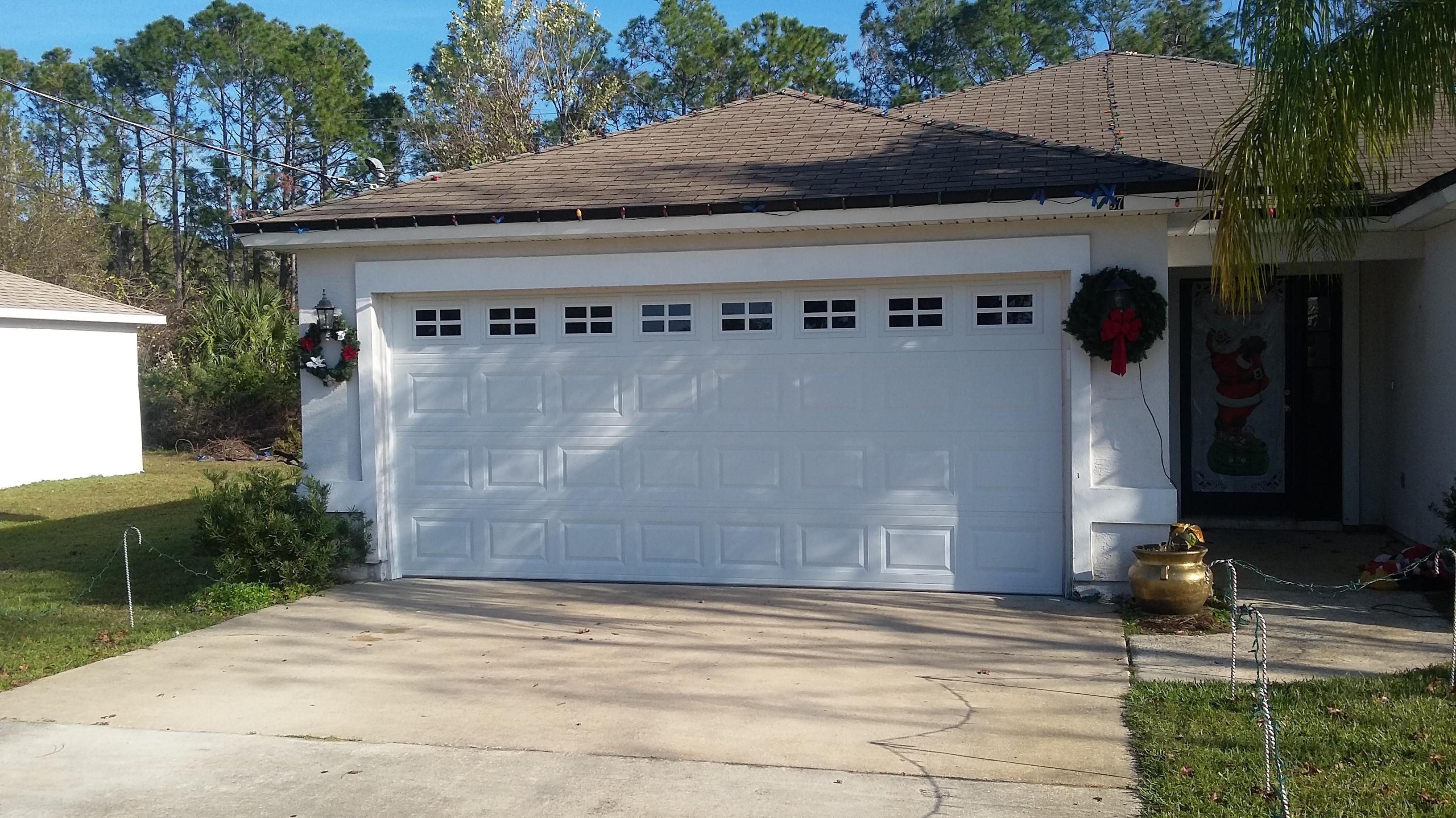 R section abs garage doors for Garage door repairs palm coast fl