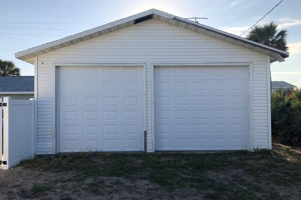 Raised Short Panel Garage Doors