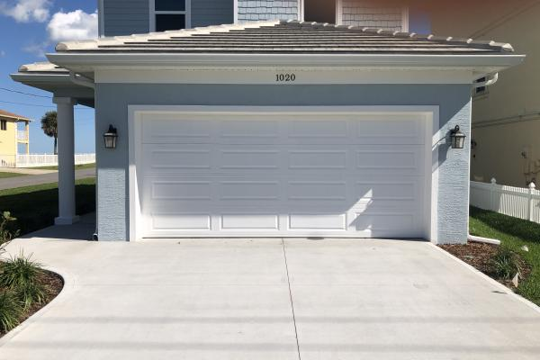 Raised Long Panel Garage Door