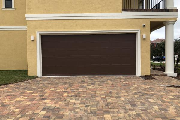 Raised Short Panel Carriage Stamp Garage Door
