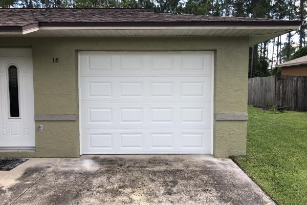 Raised Short Panel Garage Door
