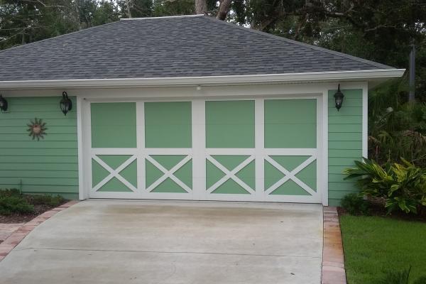 Carriage Overlay Garage Door
