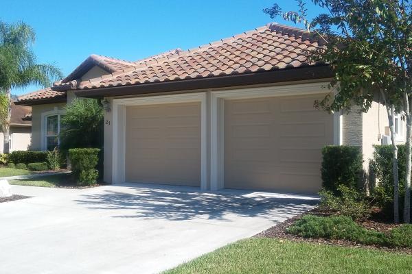 Raised Long Panel Insulated Garage Door