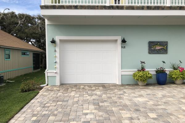 Carriage Stamp Short Panel Garage Door