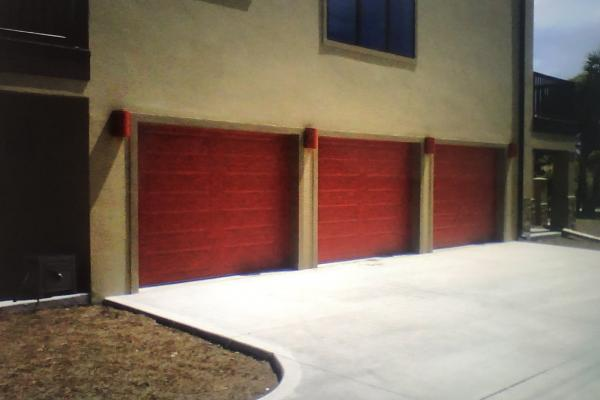 Raised Long Panel Garage Doors